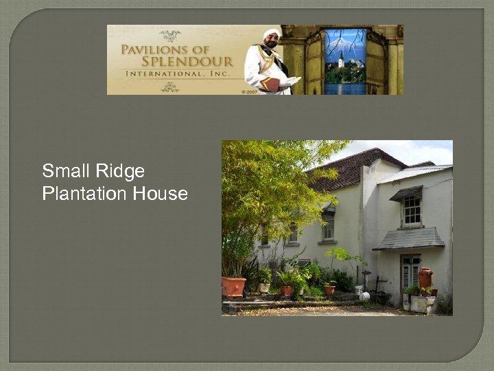 Small Ridge Plantation House tp: //