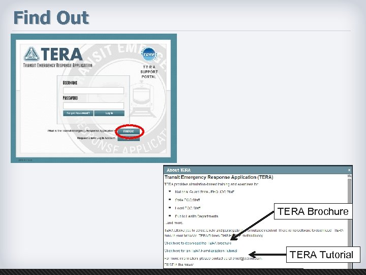 Find Out TERA Brochure TERA Tutorial