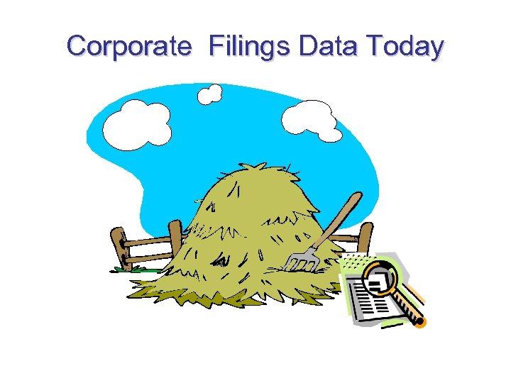 Corporate Filings Data Today