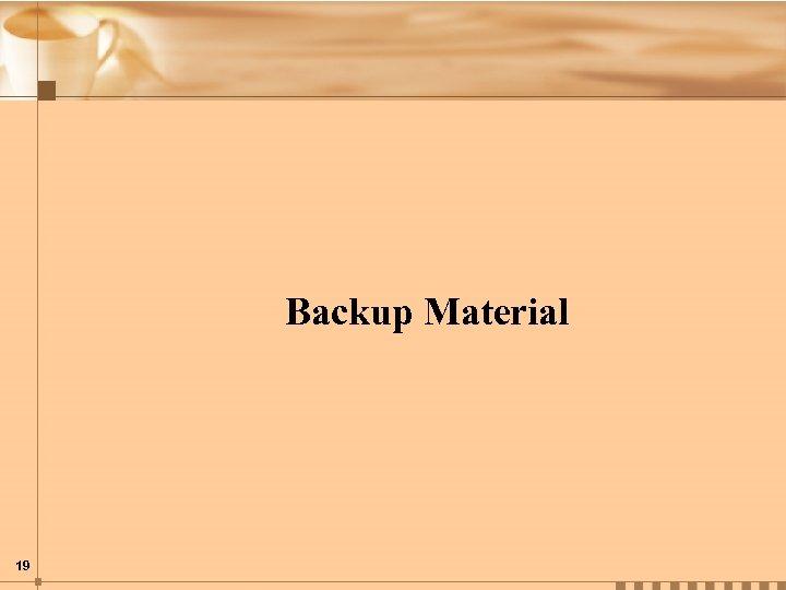 Backup Material 19