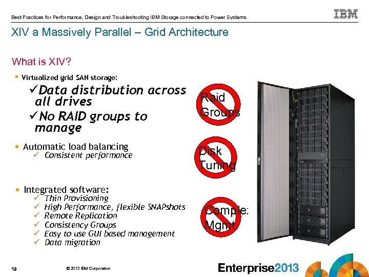 IBM XIV Grid Storage Standard Features Best Practices for Performance, Design and Troubleshooting IBM
