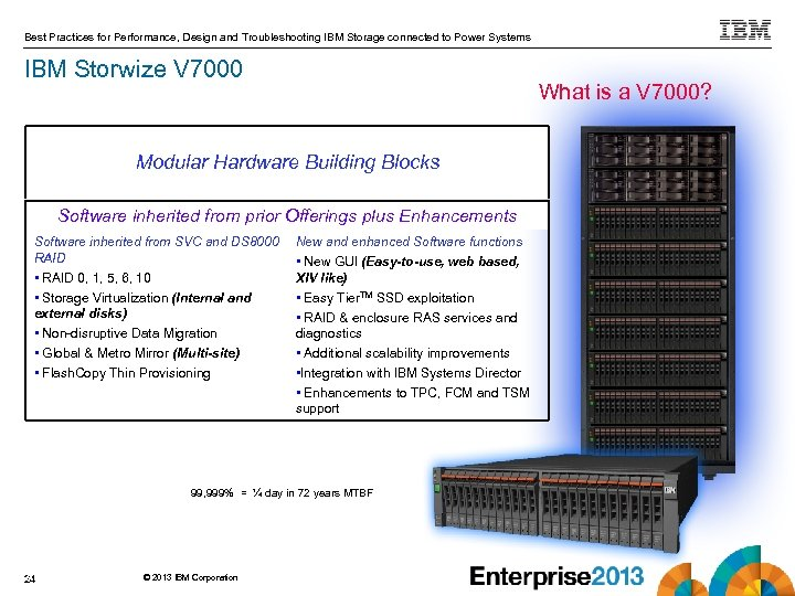 Best Practices for Performance, Design and Troubleshooting IBM Storage connected to Power Systems IBM