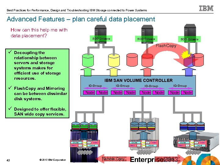 Best Practices for Performance, Design and Troubleshooting IBM Storage connected to Power Systems Advanced