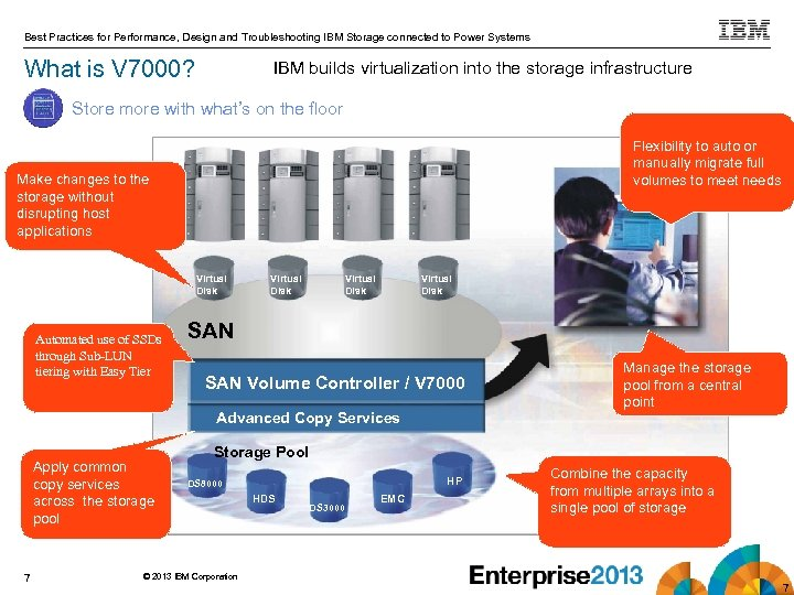 Best Practices for Performance, Design and Troubleshooting IBM Storage connected to Power Systems What