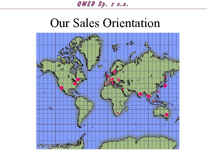 Our Sales Orientation