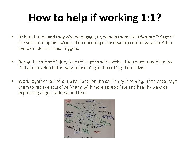 How to help if working 1: 1? • If there is time and they