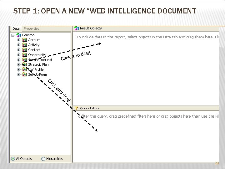 """STEP 1: OPEN A NEW """"WEB INTELLIGENCE DOCUMENT rag dd ick an Cl Cl"""