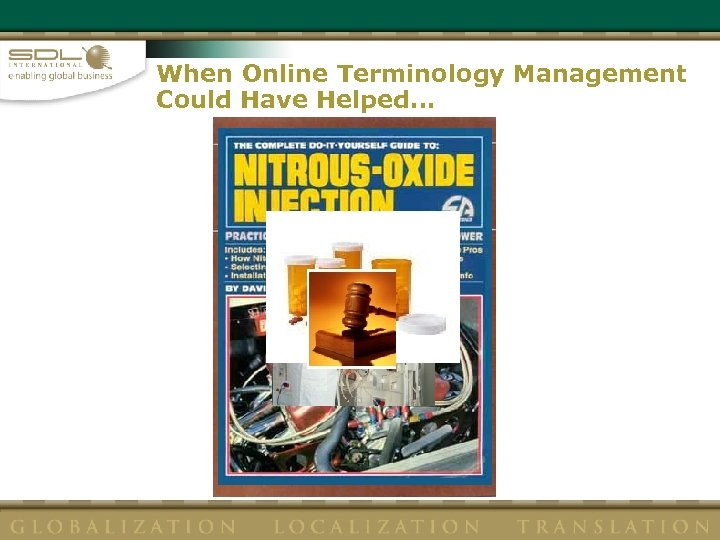 When Online Terminology Management Could Have Helped…