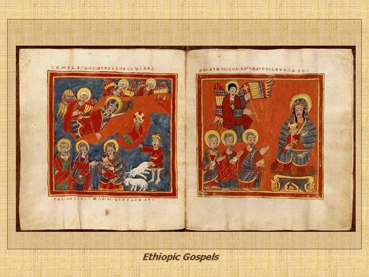 Ethiopic Gospels