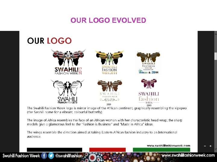 OUR LOGO EVOLVED 2008 2010 2009 2011
