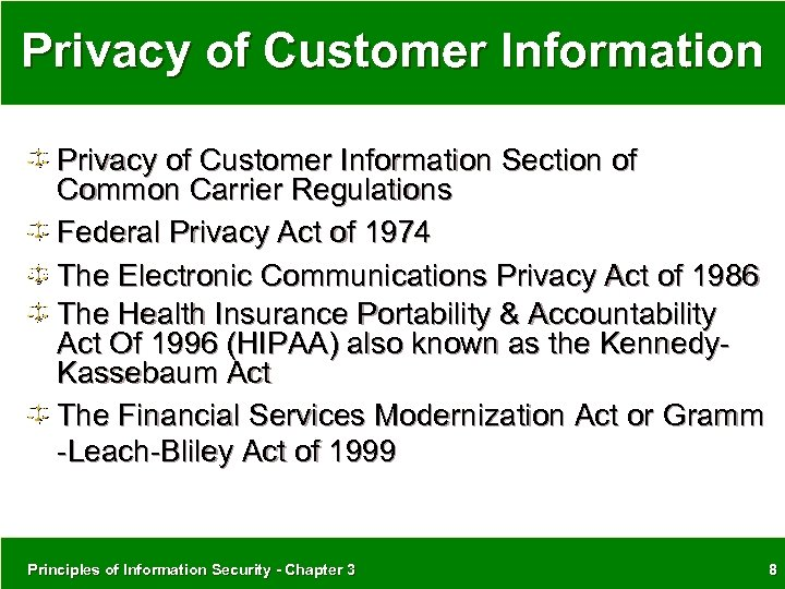 an overview of the electronic communications privacy act of 1986 [second of a series discussing privacy rights in the digital age] with the rise of technology there arose a fear of surveillance however, george orwell's 1984 passed us by without noticeable big brother control, and the national concern over espionage diminished with the demise of the ussr.