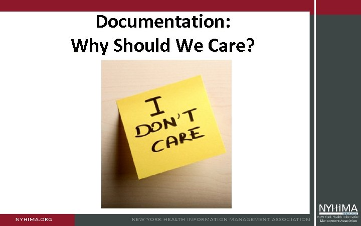 Documentation: Why Should We Care?