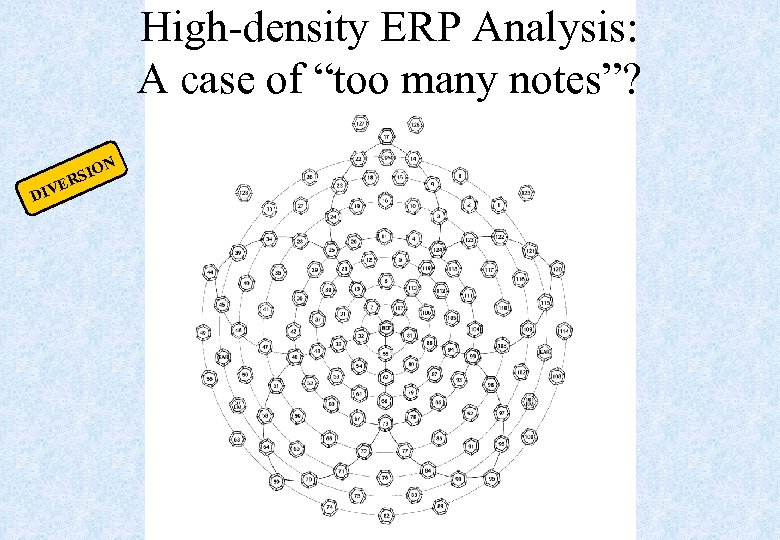 "High-density ERP Analysis: A case of ""too many notes""? DIV IO RS E N"