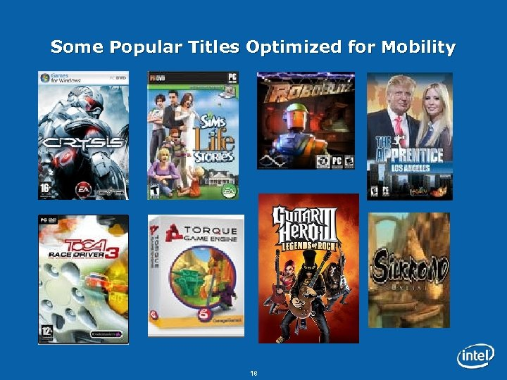 Some Popular Titles Optimized for Mobility 18