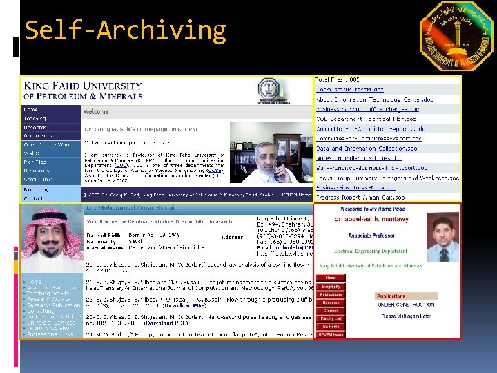 Self-Archiving