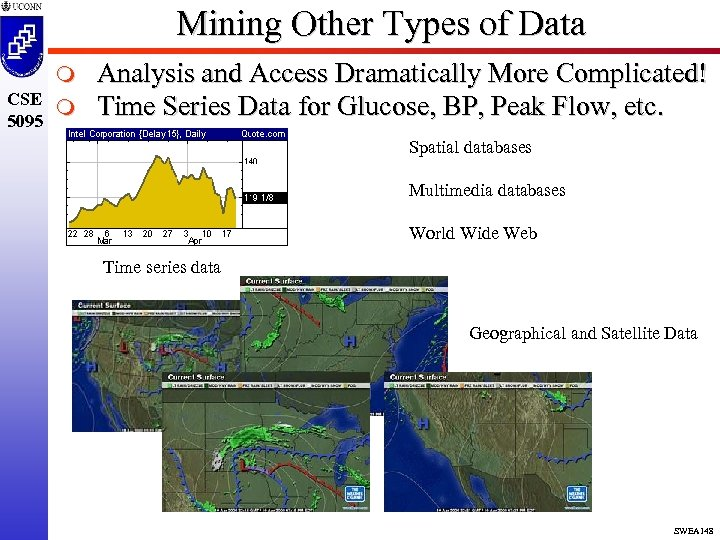 Mining Other Types of Data m CSE m 5095 Analysis and Access Dramatically More