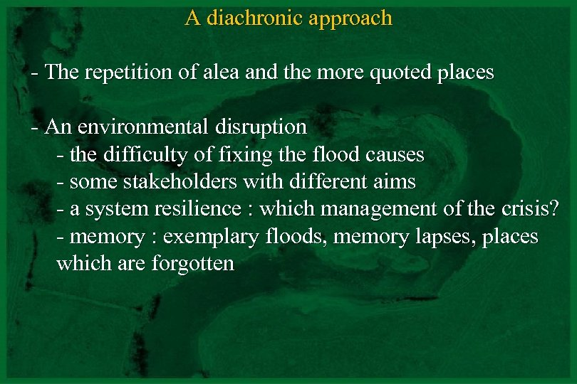 A diachronic approach - The repetition of alea and the more quoted places -