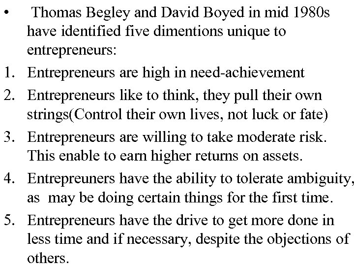 • 1. 2. 3. 4. 5. Thomas Begley and David Boyed in mid