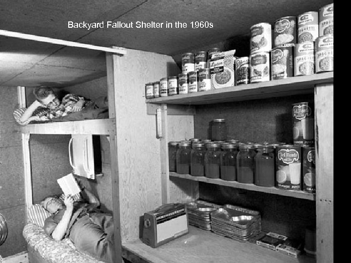 Backyard Fallout Shelter in the 1960 s
