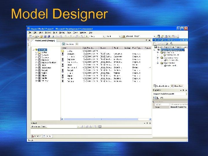 Model Designer