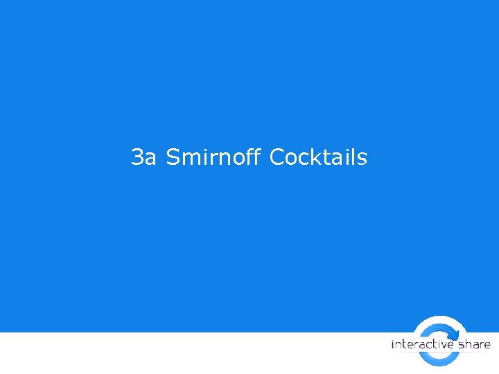 За Smirnoff Cocktails