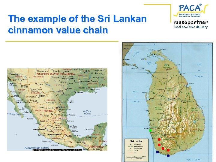 The example of the Sri Lankan cinnamon value chain