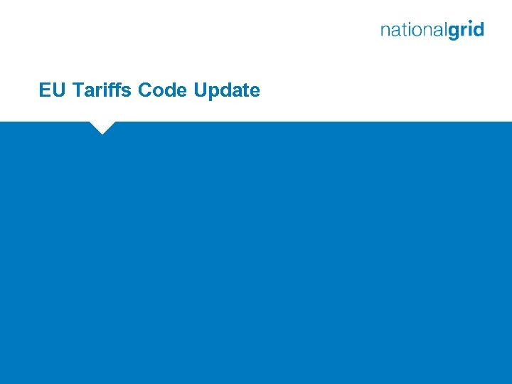 EU Tariffs Code Update