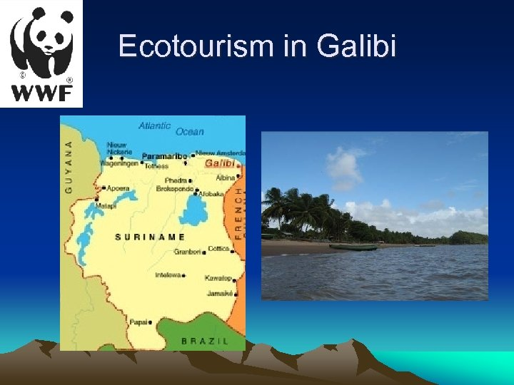 Ecotourism in Galibi