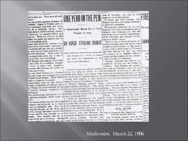 Madisonian, March 22, 1906
