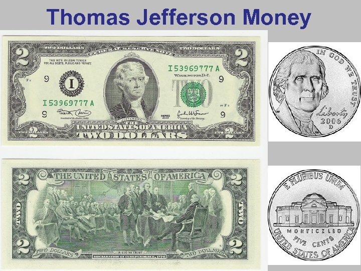 Thomas Jefferson Money