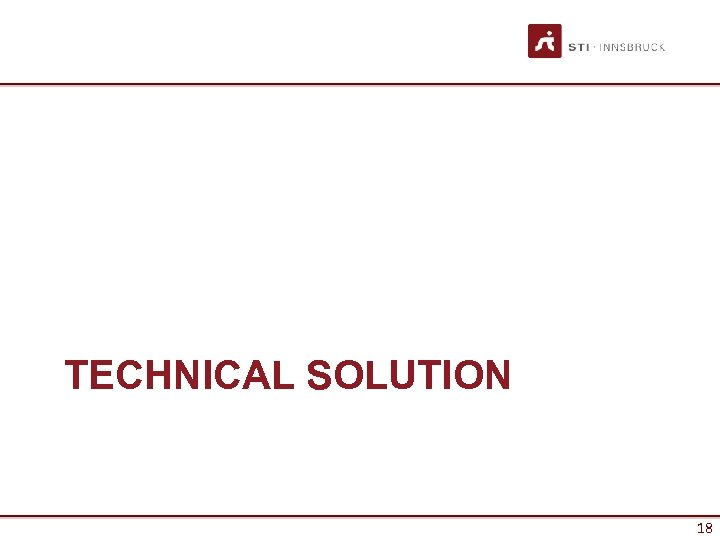 TECHNICAL SOLUTION 18