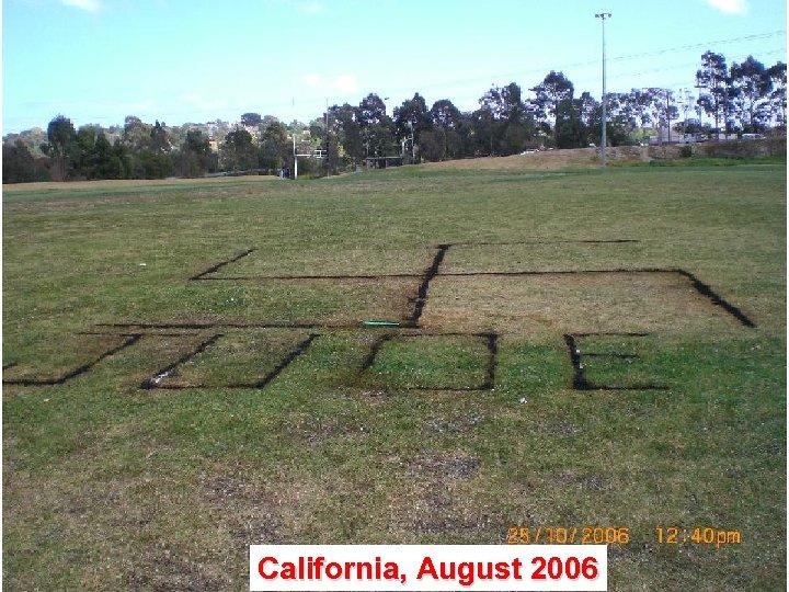 California, August 2006