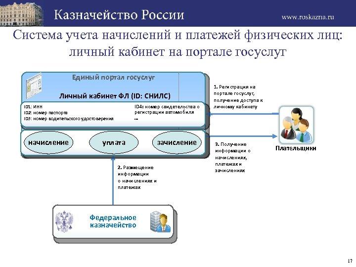 Система учета начислений и платежей физических лиц: личный кабинет на портале госуслуг Единый портал