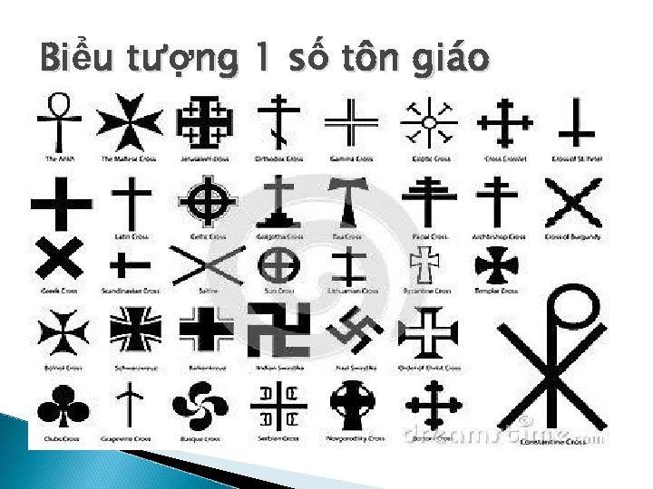 Biểu tượng 1 số tôn giáo