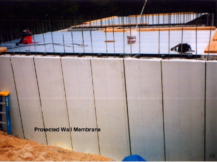 Protected Wall Membrane 48