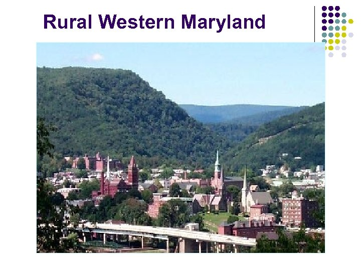 Rural Western Maryland