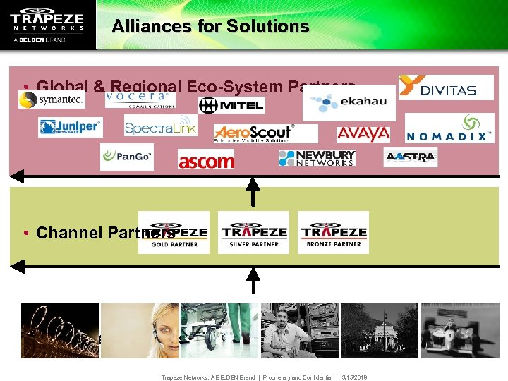 Alliances for Solutions • Global & Regional Eco-System Partners • Channel Partners • Effective