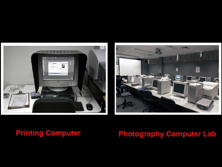 Printing Computer Photography Computer Lab