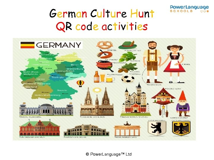 German Culture Hunt QR code activities © Power. Language™ Ltd