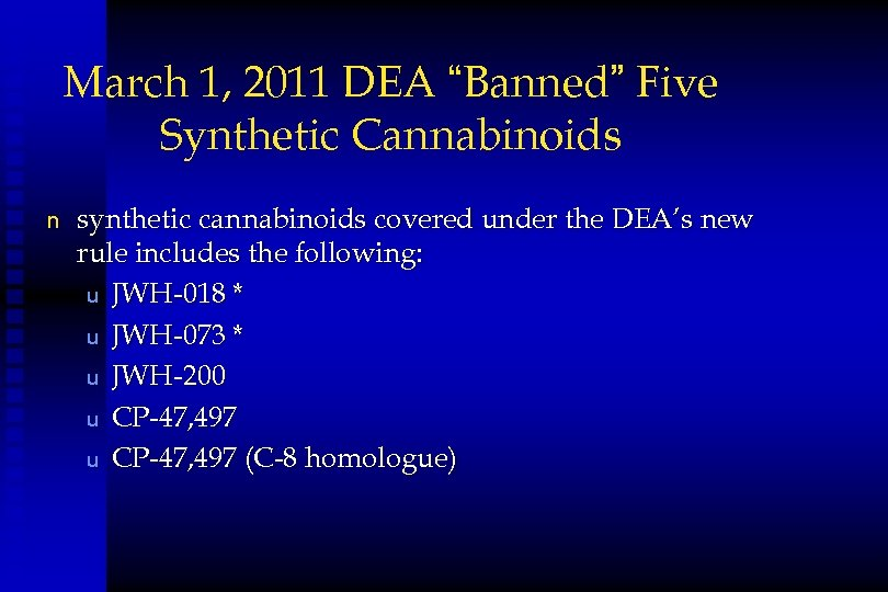 Designer Drugs What You Need to Know
