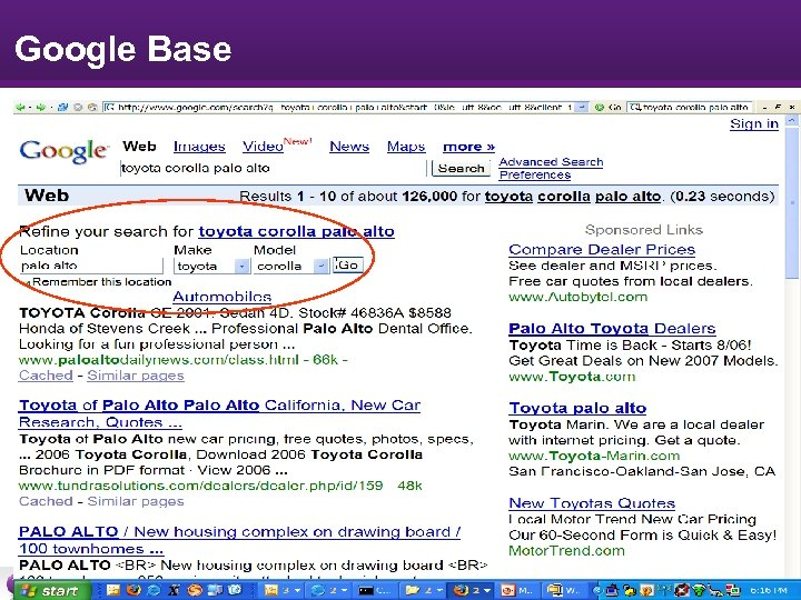 Google Base Research -9 -