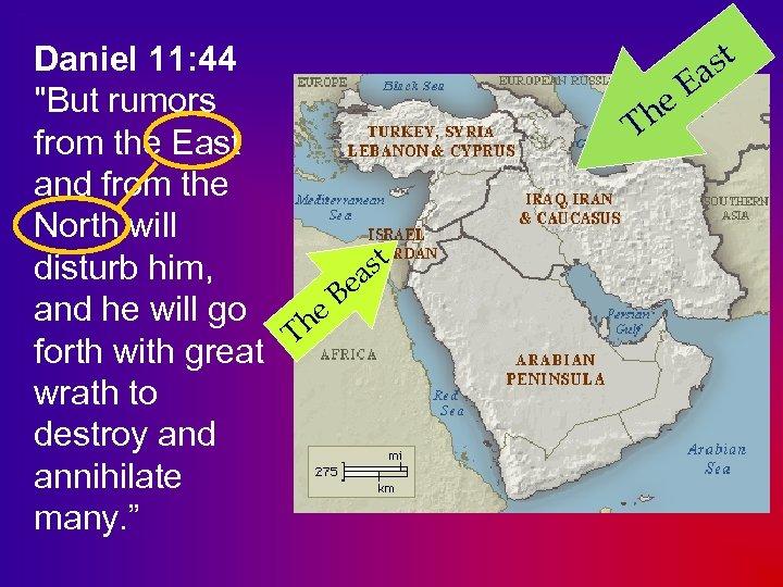 Daniel 11: 44