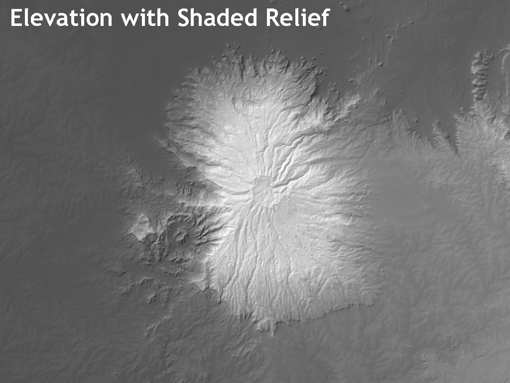 Elevation with Shaded Relief