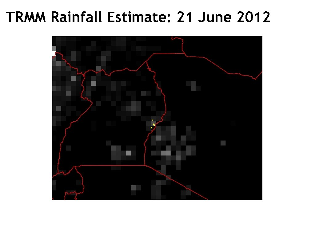 TRMM Rainfall Estimate: 21 June 2012