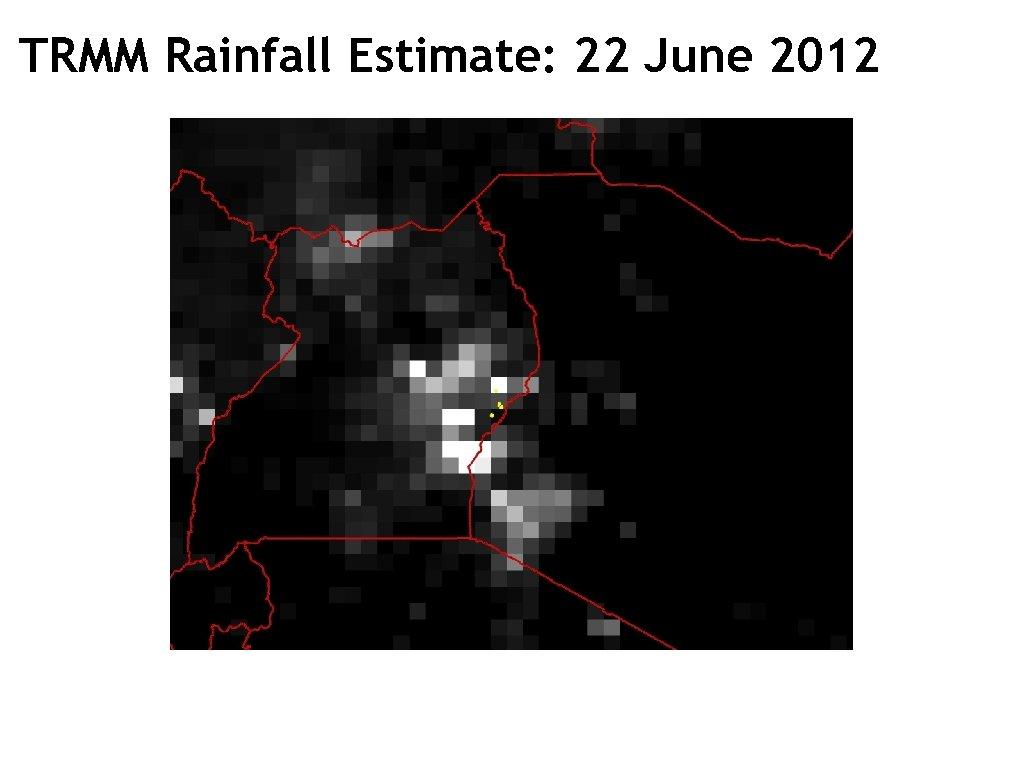 TRMM Rainfall Estimate: 22 June 2012