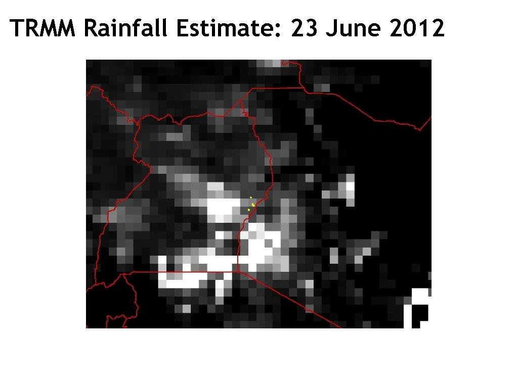 TRMM Rainfall Estimate: 23 June 2012