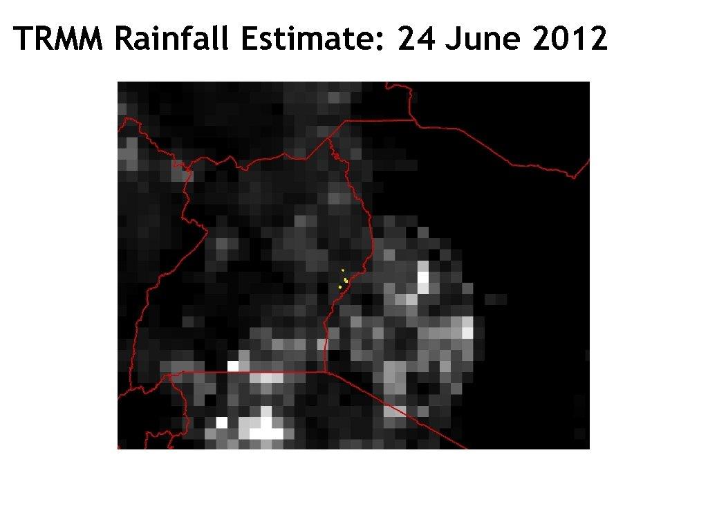 TRMM Rainfall Estimate: 24 June 2012