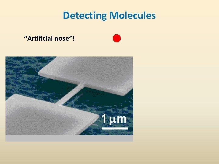 "Detecting Molecules ""Artificial nose""!"