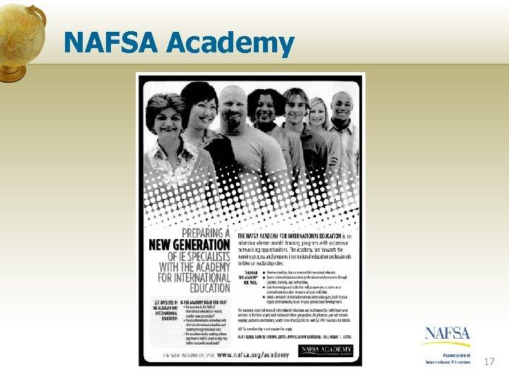 NAFSA Academy 17