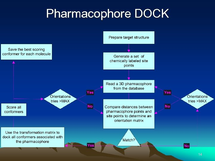 Pharmacophore DOCK 14